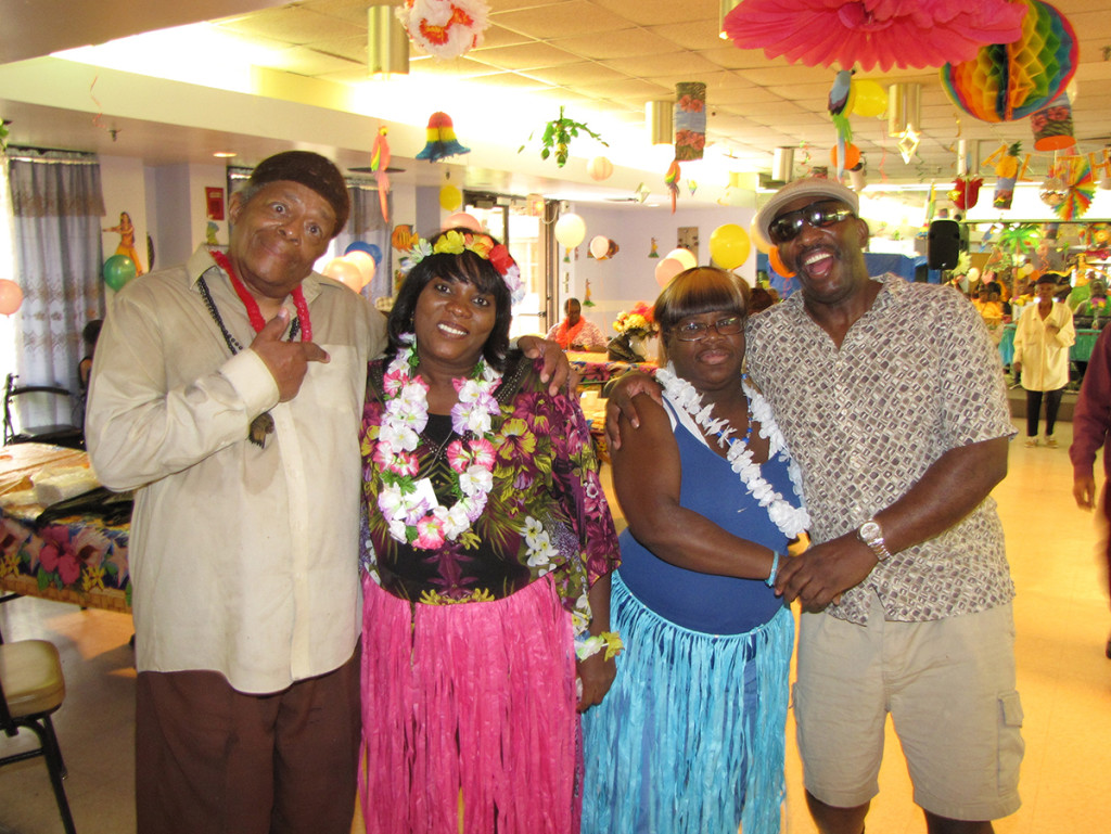 Medical Day Care luau