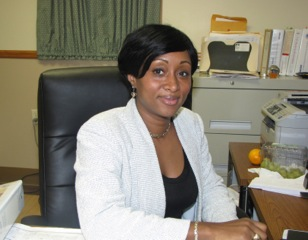 """Ronda Lawrence, NCC Manor Senior Property Manager, describes herself as a """"product of New Community."""""""