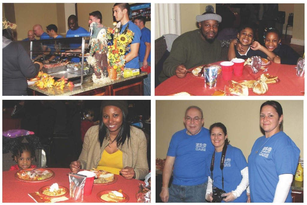 Volunteers from WithumSmith+Brown, a longtime supporter of New Community, provided a delicious Thanksgiving dinner for families staying at Harmony House, a transitional housing facility for the homeless. More than 120 Harmony House residents received a meal, which was served by WithumSmith+Brown staff, at the festively decorated St. Joseph Plaza during the week of Thanksgiving.