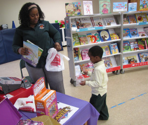 CHELC book fair Nelly Payen and Ishmeal Winston, 4