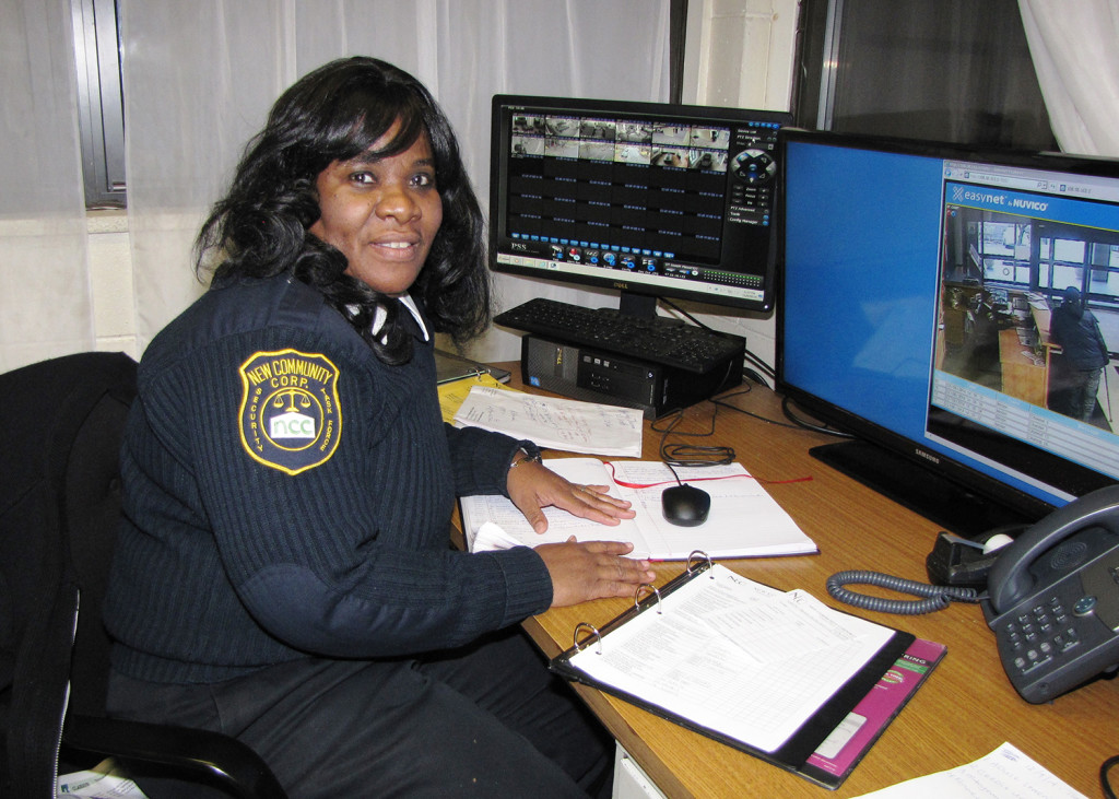 Security Officer Rhonda Johnson says that during her time at NCC, she has grown with the company.