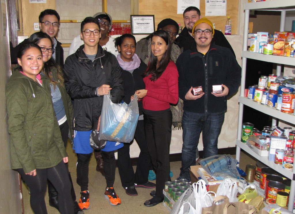Essex County College Physical Therapist Assistant Club donate to NCC Emergency Food Pantry_cropped