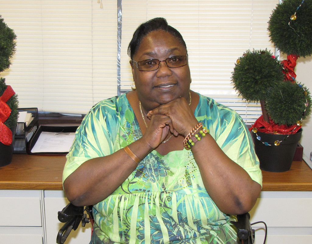 """Cynthia Sears is """"a born leader,"""" according to the staff at NCC Manor Senior, where she's lived for 16 years."""
