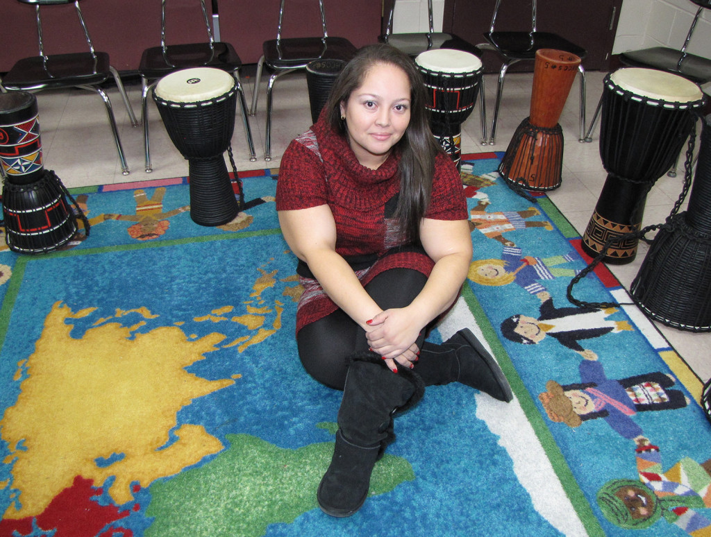 Jenifer Pineda, 29, is an After School Program Counselor for NCC Youth Services and also teaches Spanish at New Horizons Community Charter School in Newark.