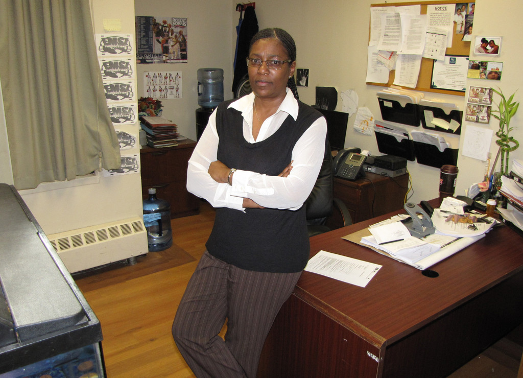 """After two years as property manager at NCC Douglas Homes, Vivian Pounder has tackled problems and spearheaded positive changes that's led the state to rate the property as """"excellent."""""""