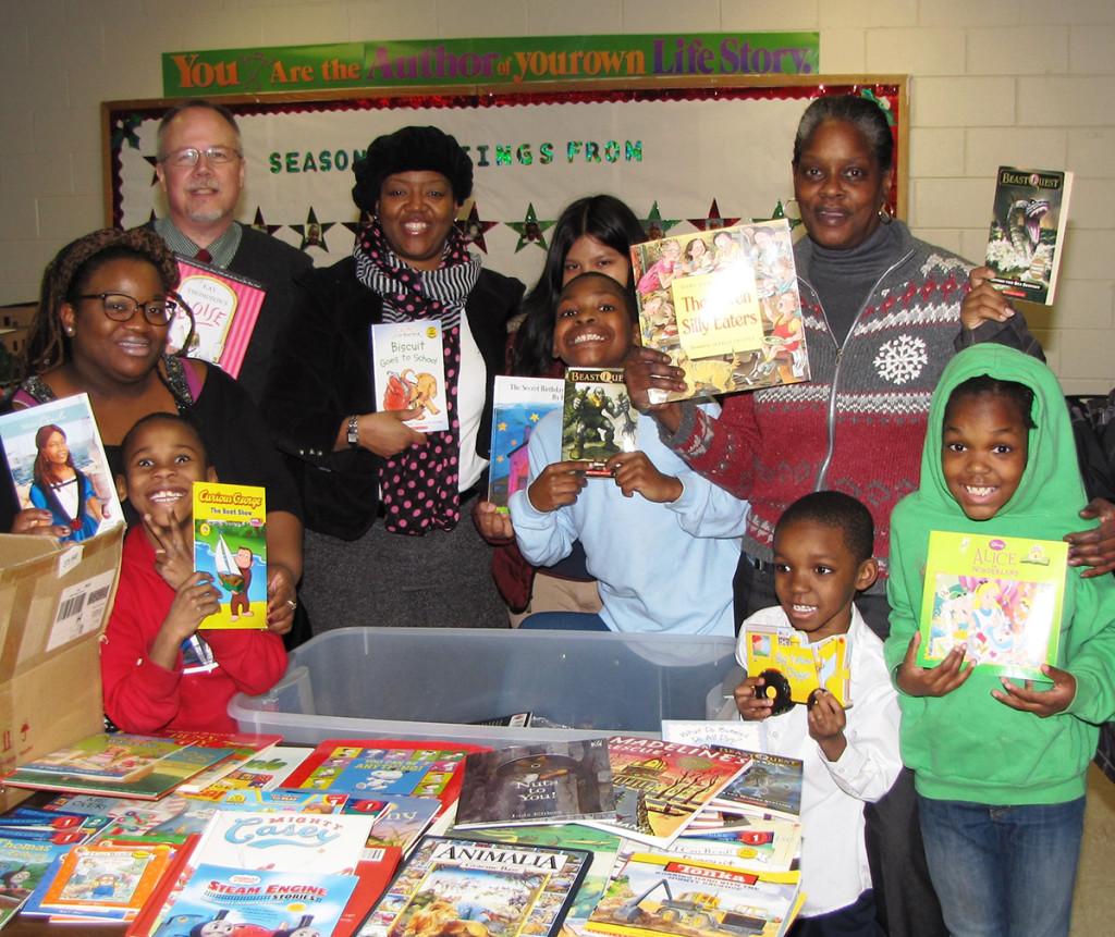 Harmony House book donation