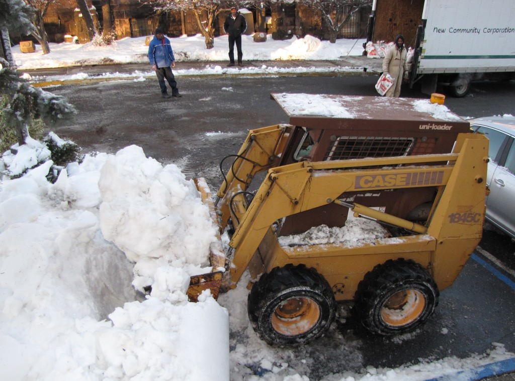 Environmental Services has been at the forefront of removing snow from NCC's properties throughout this winter.