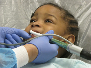 Harmony House mobile dentist Ariyah Parchment age 3-2