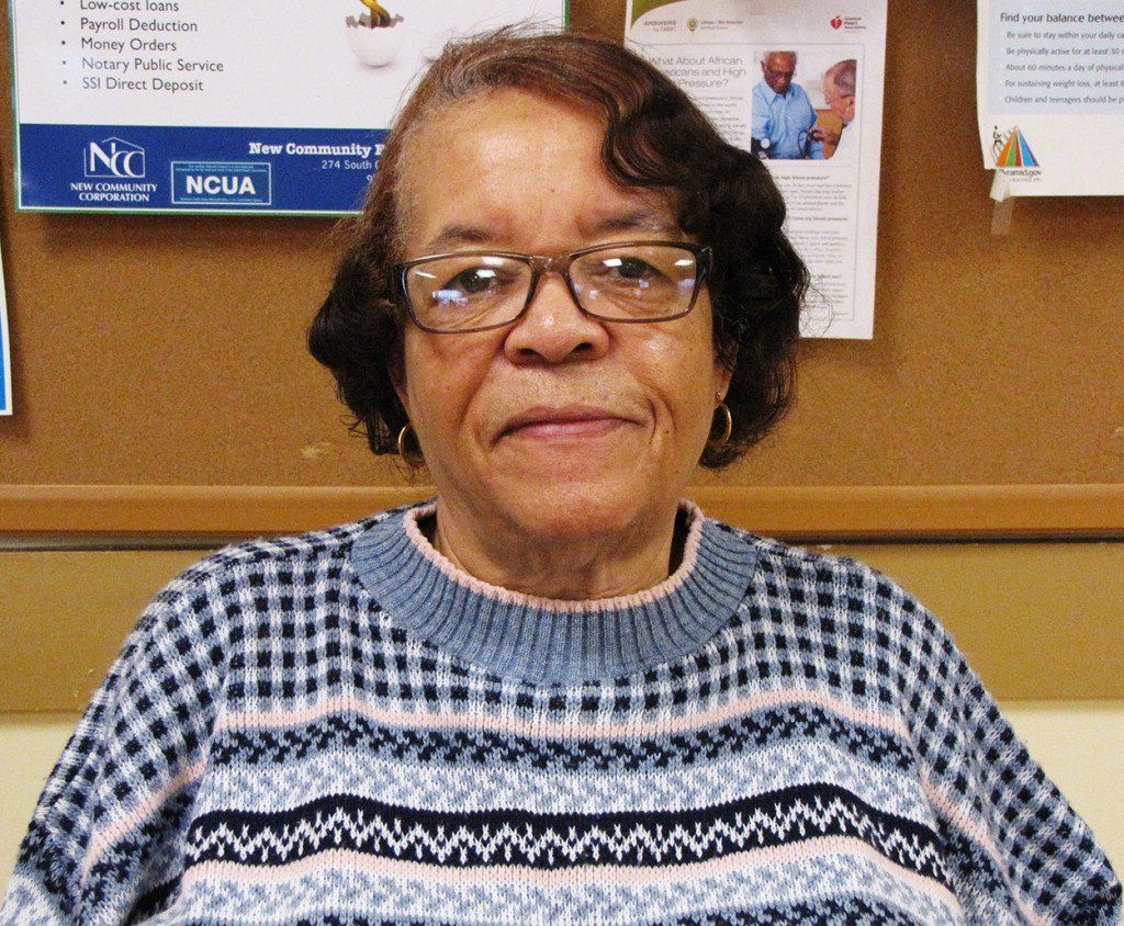 New Community resident Joann Liggins has called Orange Senior home since the complex opened in 2003.