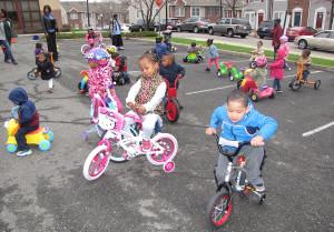 Trike-a-thon group
