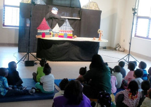 Week of Young Child puppet show