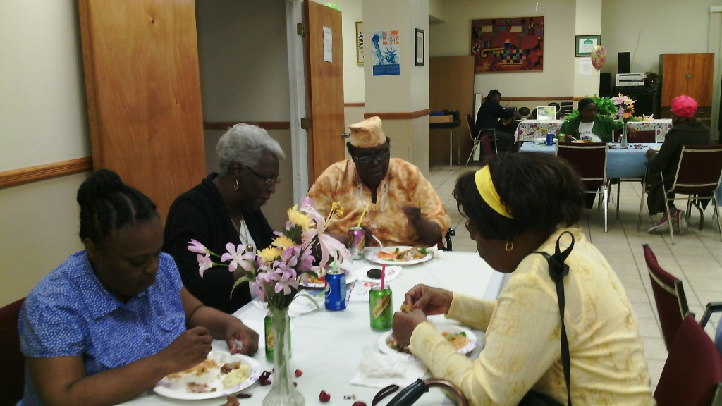 Manor Senior mother's day lunch