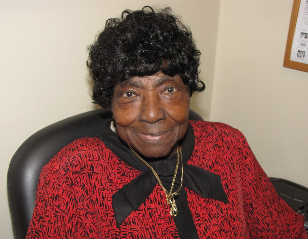 Rosa Irick, 85, was born in Columbia, S.C., and shares entertaining stories of her childhood to those who listen.