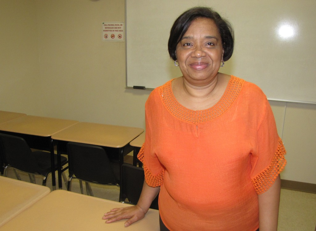 Victoria Peguero has taught English language learners at the NCC Adult Learning Center for nine years.