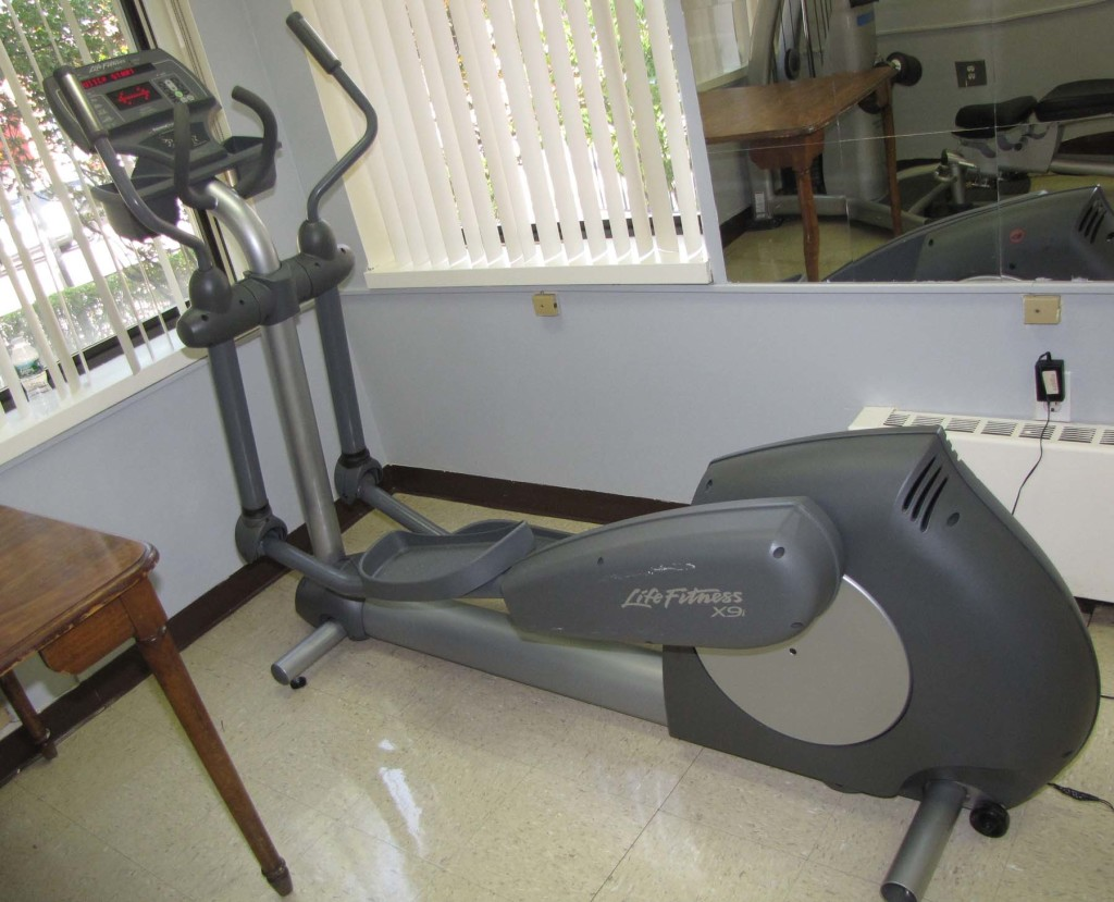 Rehab elliptical