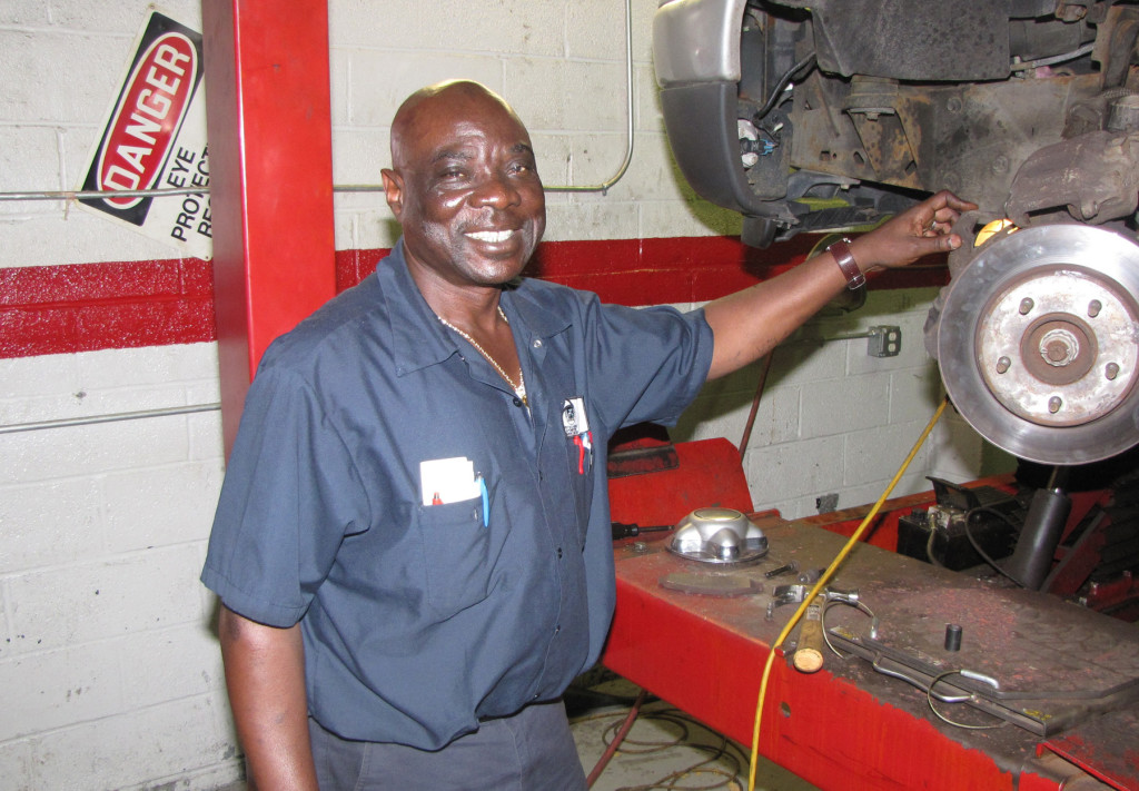 Instructor John Zaccheus has launched many careers in the auto industry from NCC's Automotive Training Center.
