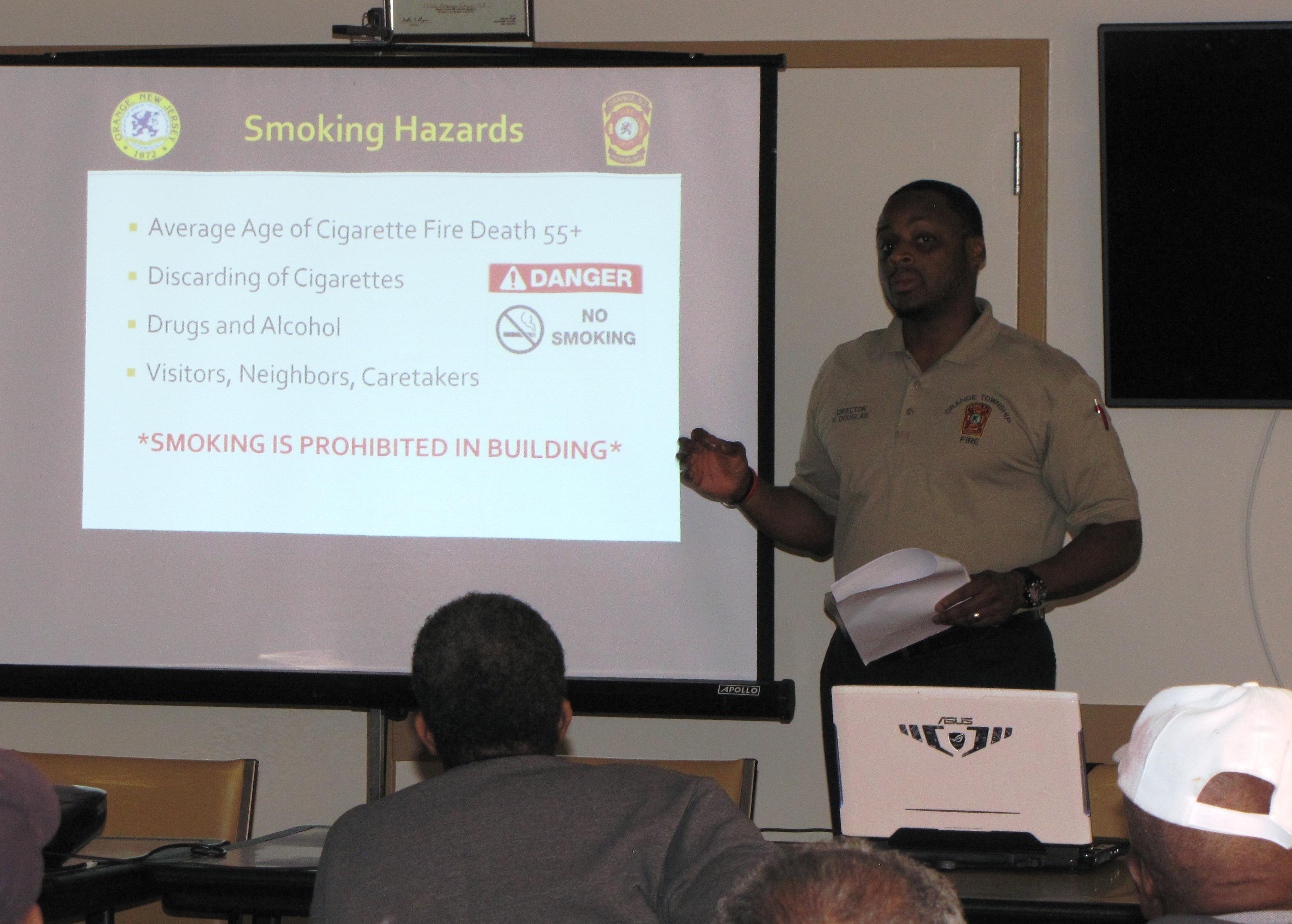 Orange Senior fire prevention director
