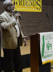Stanley Ross served as Wesley Way's counselor at FSB and offered remarks at the awards ceremony.