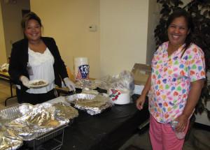 Thanksgiving Douglas Homes Care Coordinator Luz Toro