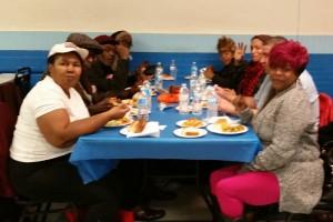 Thanksgiving Samson Lodge full table