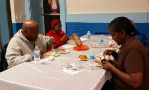 Thanksgiving Samson Lodge table of three_2