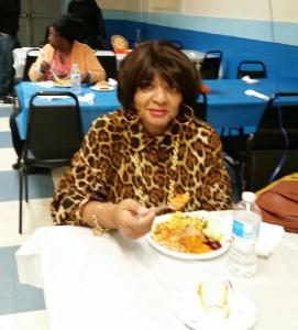 Thanksgiving Samson Lodge woman