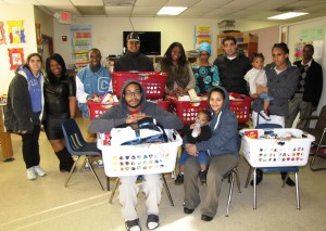 Thanksgiving baskets group