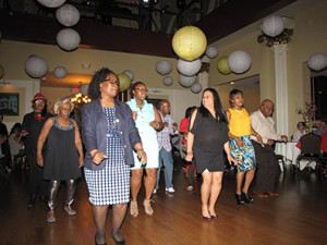 New Community staff, residents, friends and supporters danced the night away  at St. Joseph Plaza in Newark during the annual Spring Festival and Auction, which benefited the Monsignor William J. Linder Scholarship Fund.