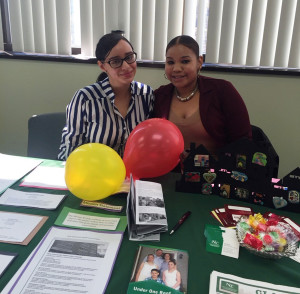 Social Services manning table