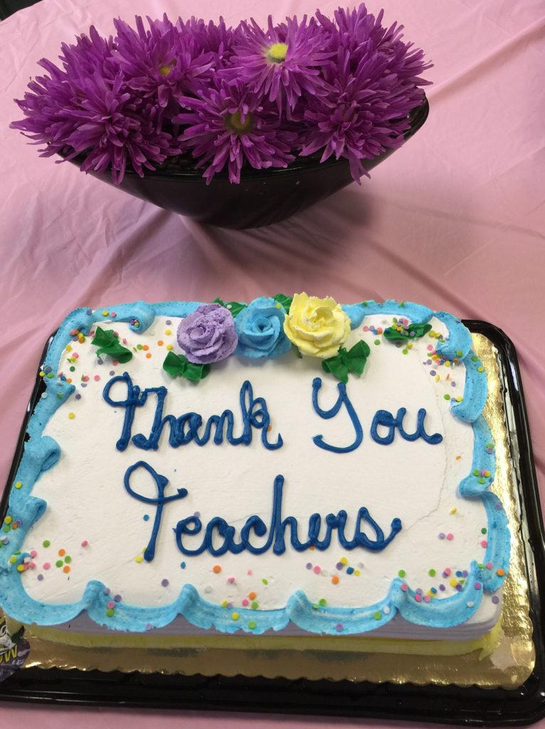 CHELC teacher appreciation cake