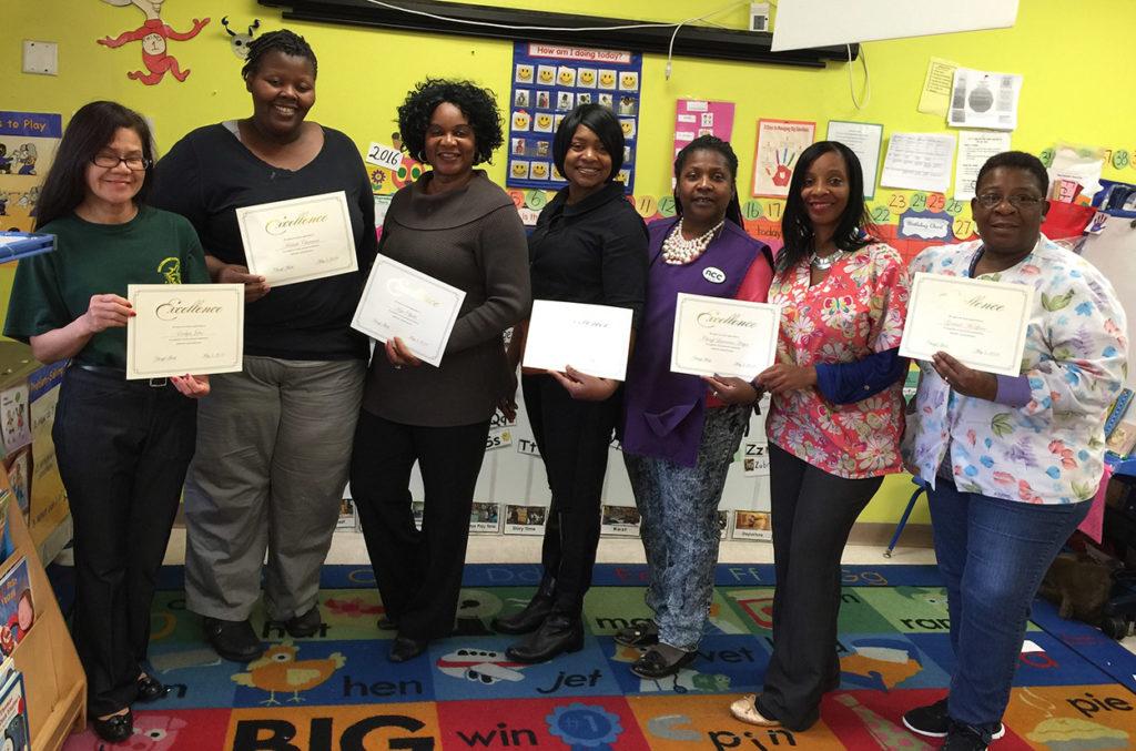 CHELC teacher appreciation certificates