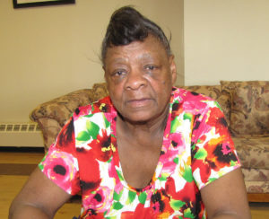Cora Farmer is the seventh floor captain at New Community Douglas Homes, where she has lived for 13 years.