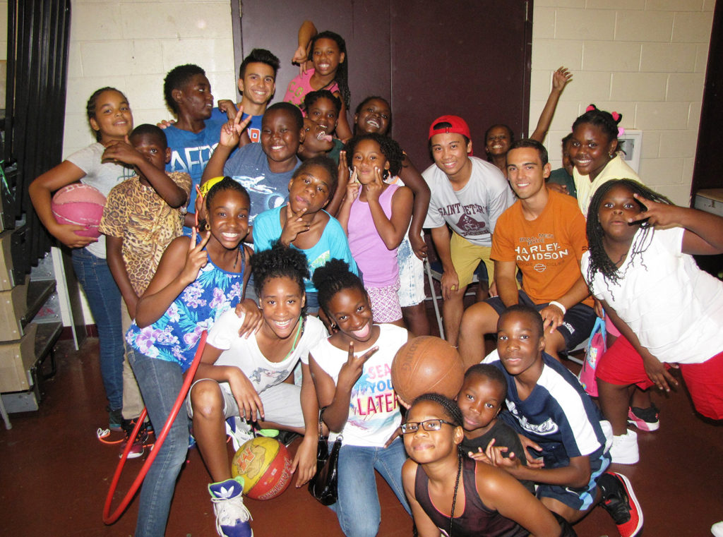 St. Peter's Prep summer camp group.jpg
