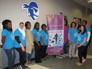 The Fabulous Me Conference was organized by the staff of the Family Service Bureau of Newark and held on the campus of Seton Hall University.