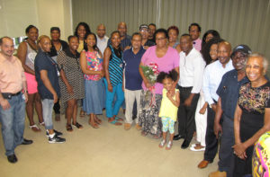 Martha Davis farewell group