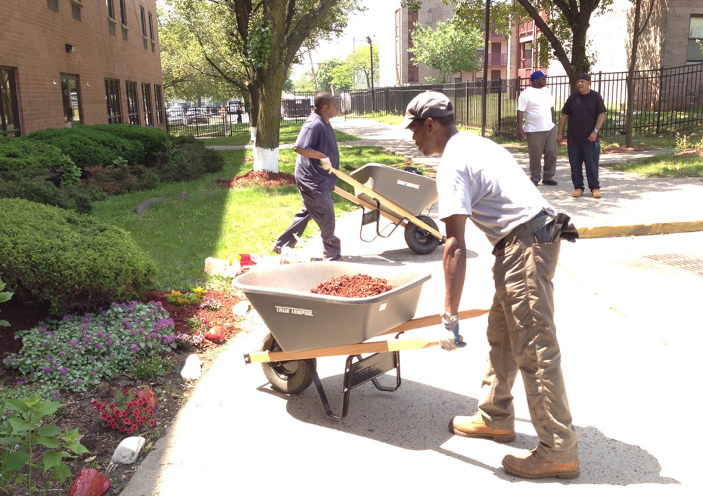 Spring Up Extended Care wheelbarrows