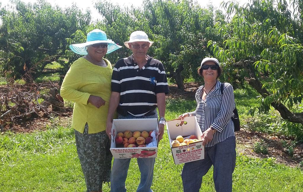 hudson-senior-peach-picking
