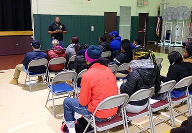 Linden Police Detective Lieutenant Abdul Williams offered insight on how to interact with law enforcement in a positive manner.