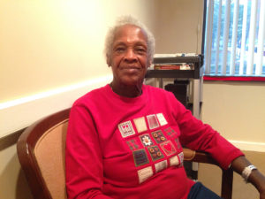 Newark resident Dorothy McMillan currently resides at the New Community Extended Care Facility where she previously worked as a nursing assistant.