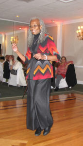 Elnora Haynes will be remembered for her love of dancing, among other things. Haynes danced away at the annual Senior Harvest Ball in October 2014.