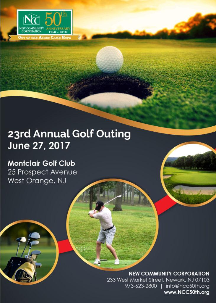 Golf Invitation 2017 Cover