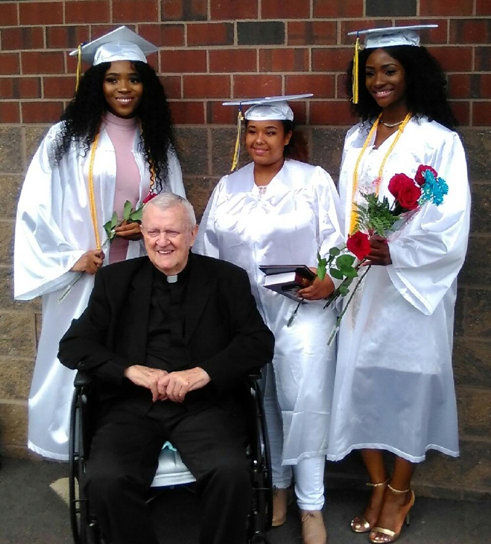 Monsignor Linder Scholarship Recipients Graduate High School