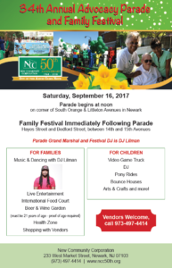 Parade and Festival Flyer