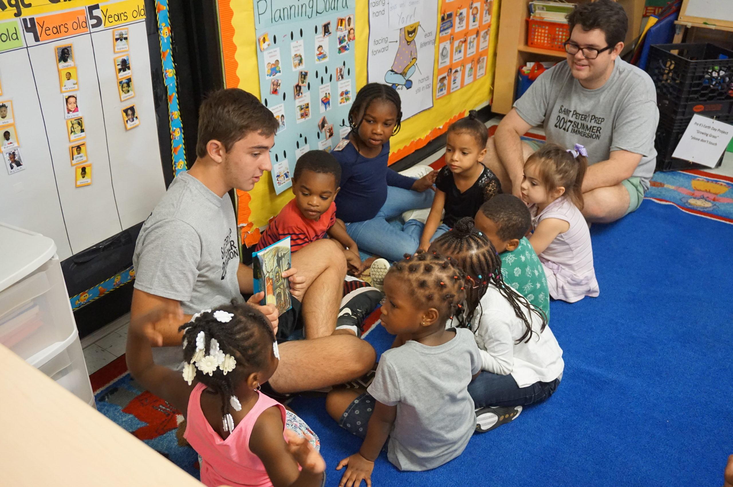 Teenagers Spend Week Volunteering In Newark At New Community Corporation