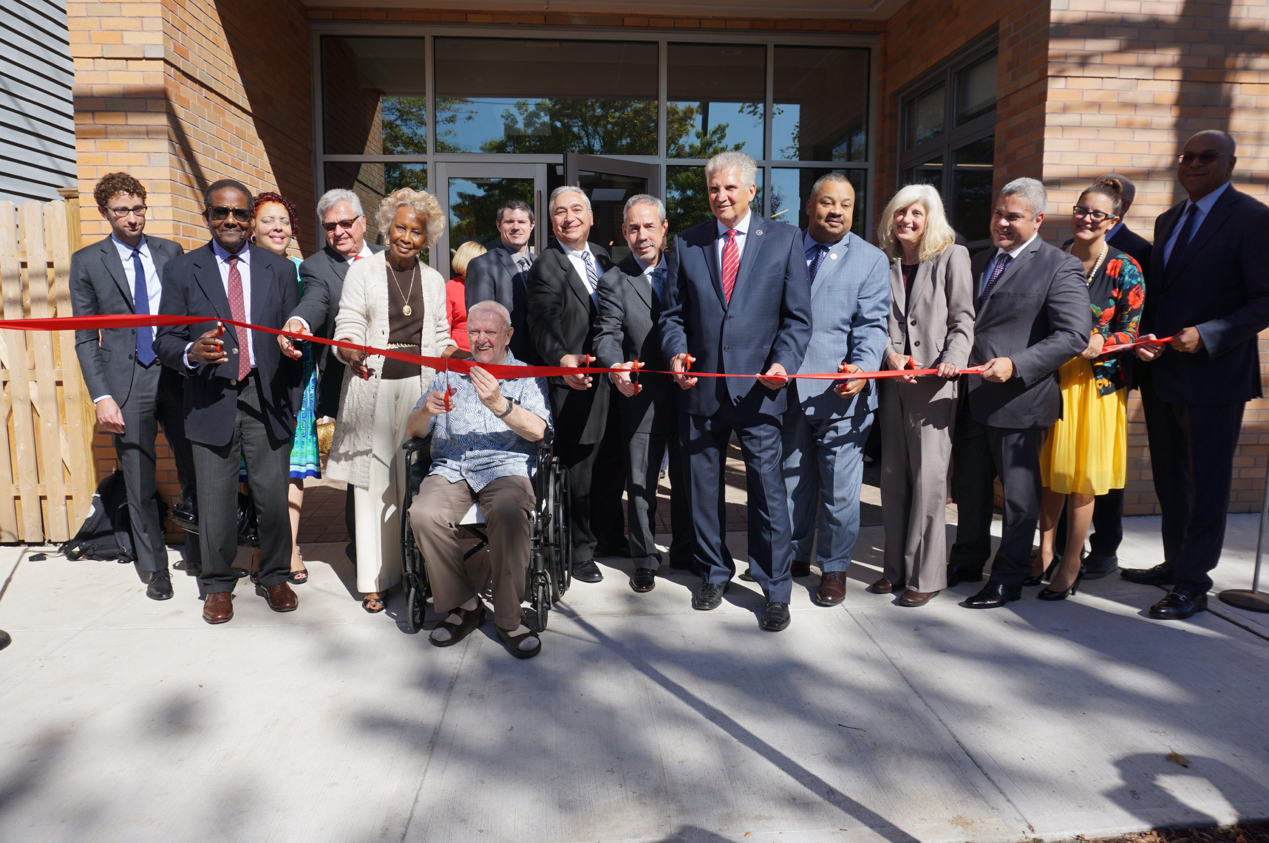 New Community Corporation Hosts Grand Opening Of Housing Facility For The Chronically Homeless