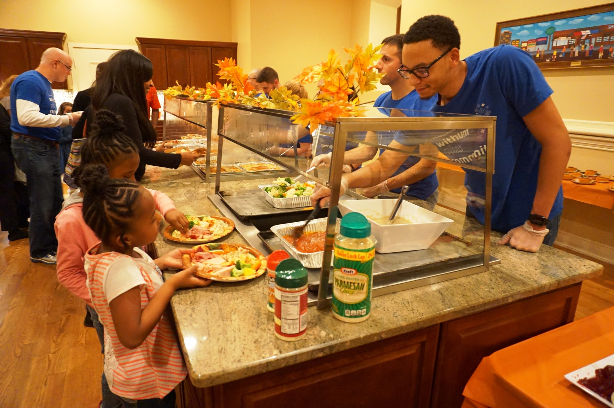 Withum Hosts Thanksgiving Dinner For Harmony House Residents
