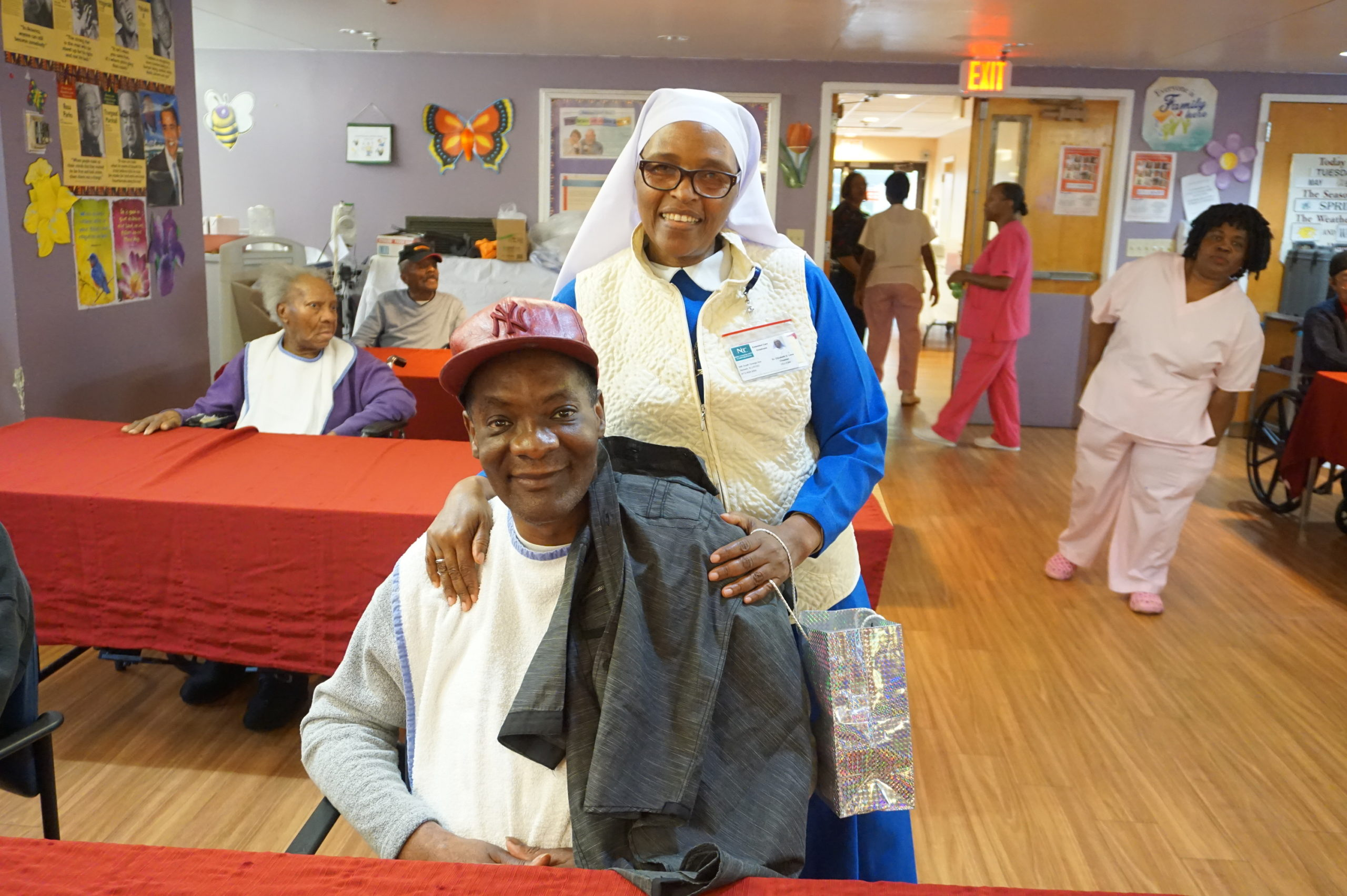Extended Care Hosts Adopt-A-Resident Day