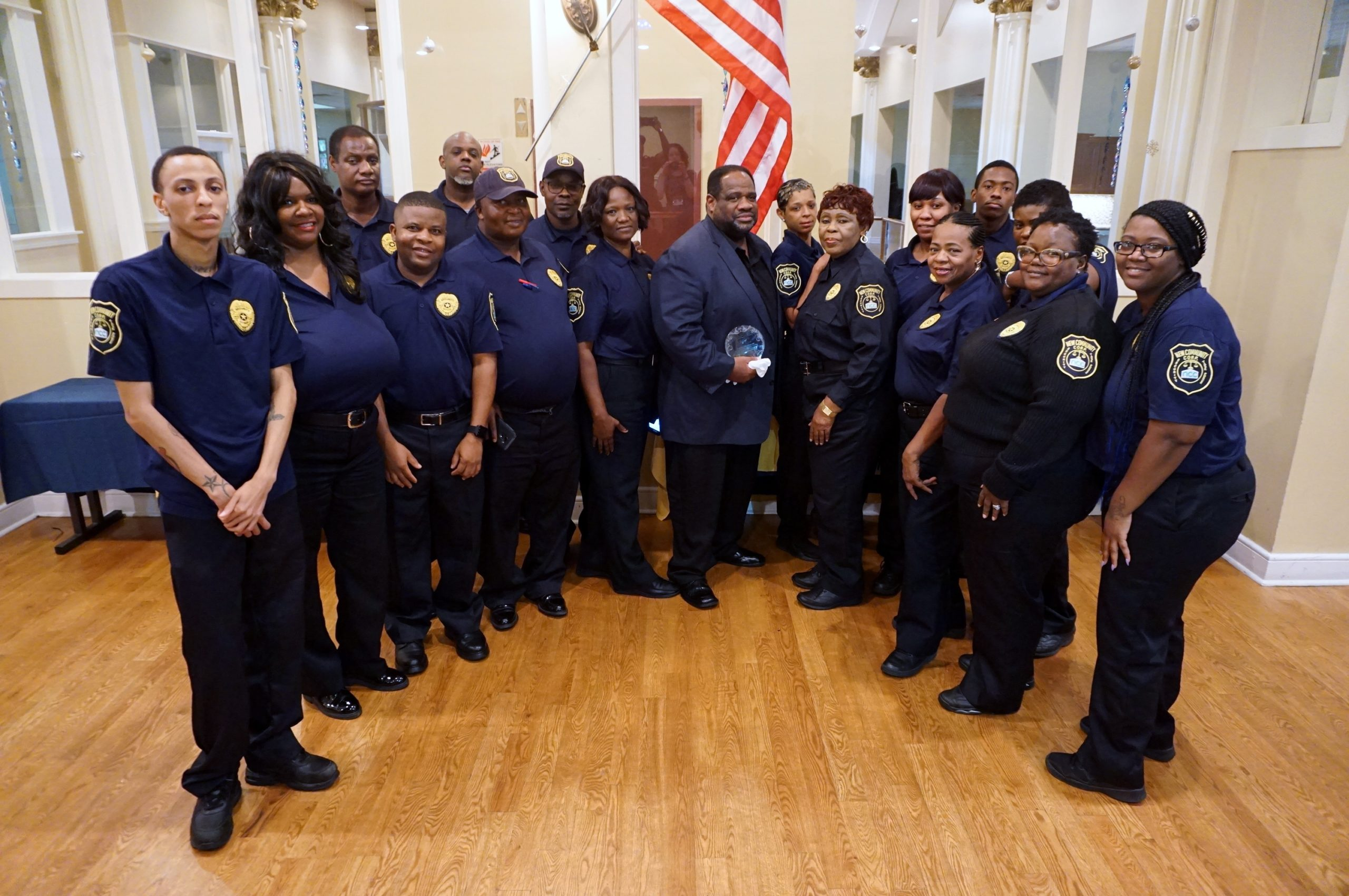 NCC Security Personnel Recognize Security Operations Manager