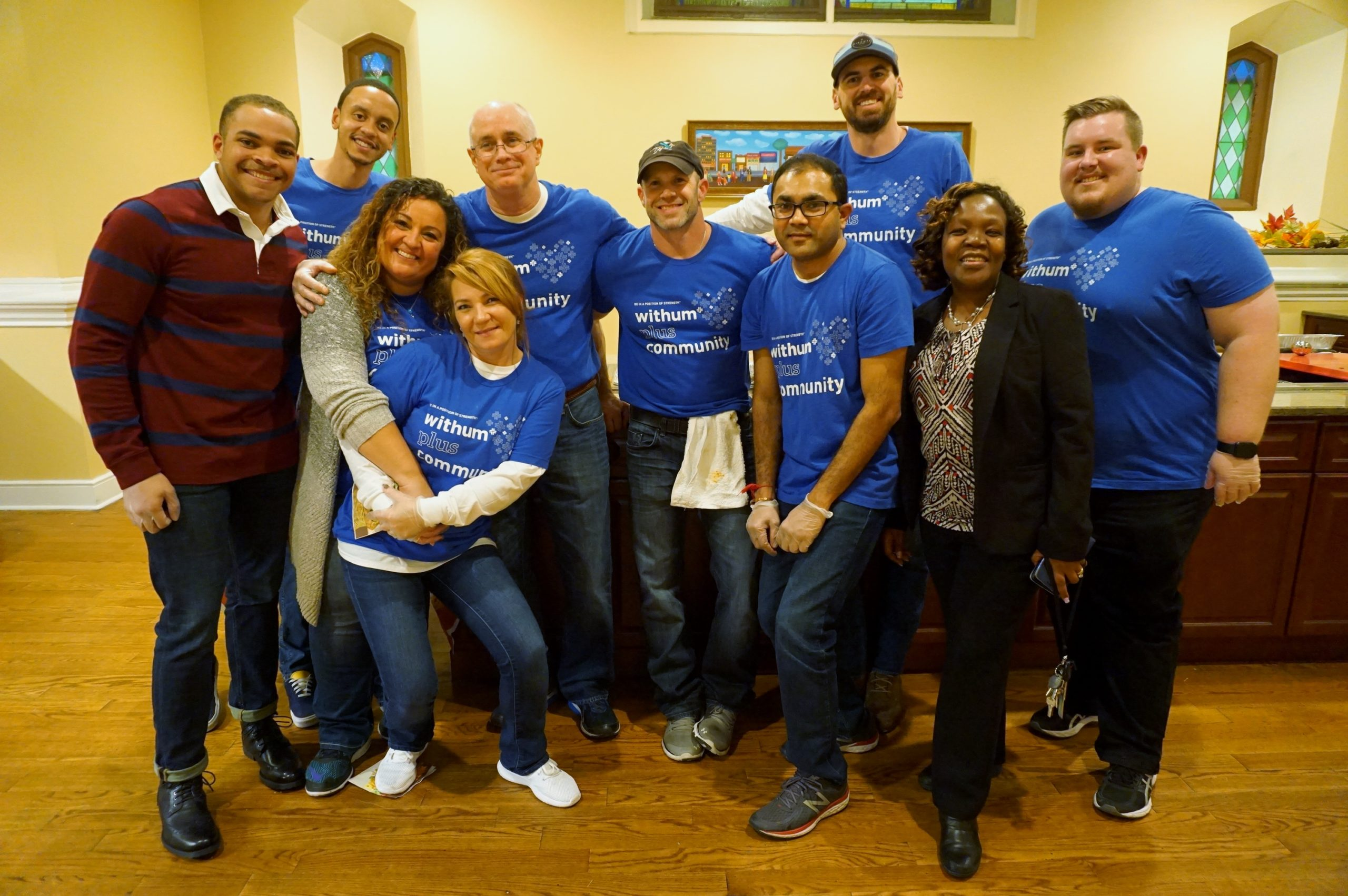 Withum Hosts Thanksgiving Dinner For Harmony House Families