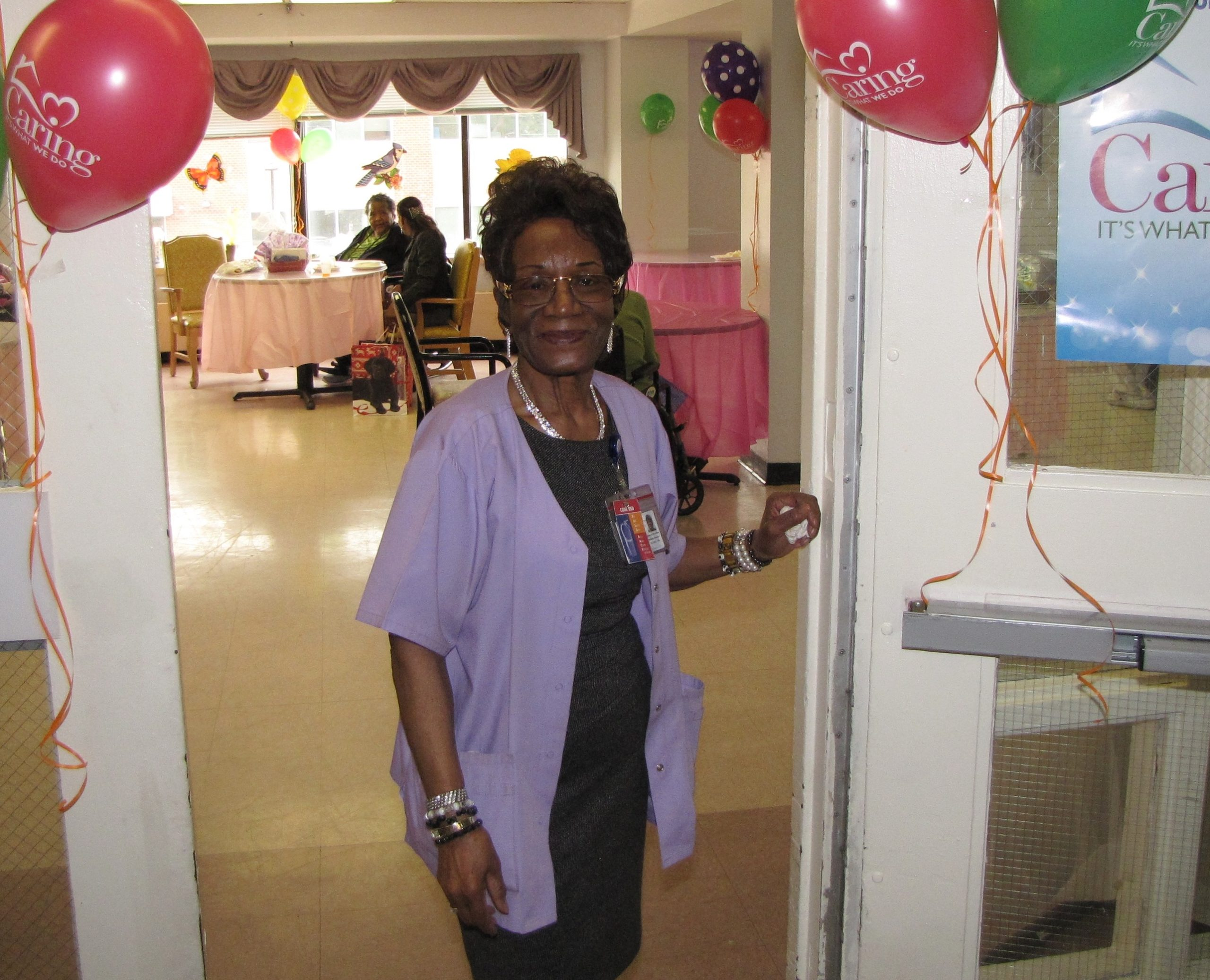 Extended Care Mourns Loss Of Director Of Activities Elizabeth Brookins